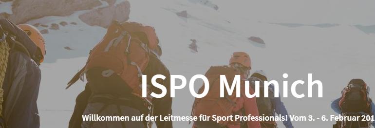 ISPO-2019 Международная выставка спортивных товаров